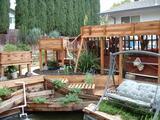 Incredible backyard aquaponics setup!
